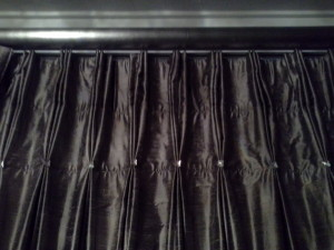custom design curtains